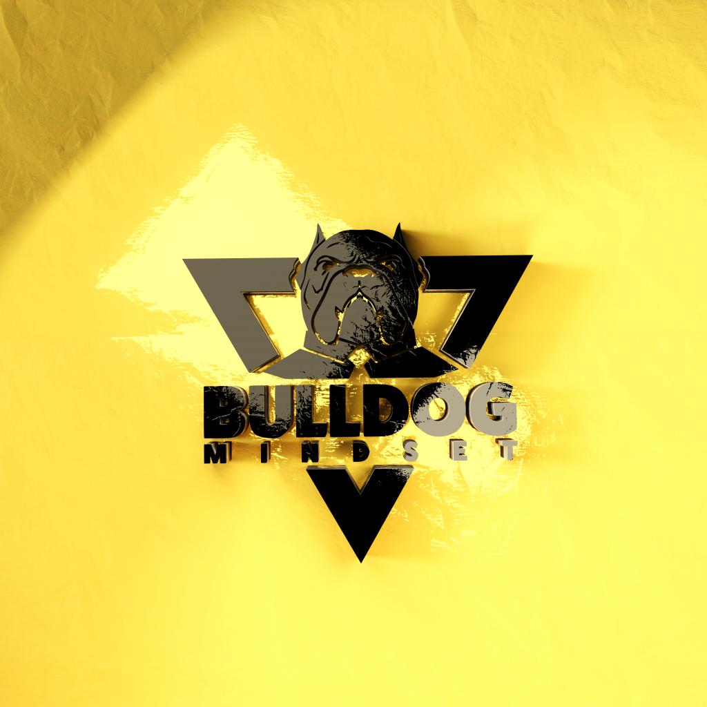 bulldog mindset logo health wealth and relationships